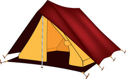 Red tent Stock Photos