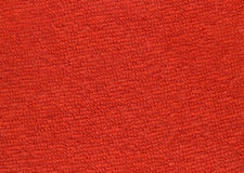 Red terry cloth Stock Image