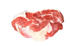 Red testy meat Royalty Free Stock Images