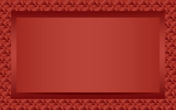 Red text or photo frame landscape Stock Photo