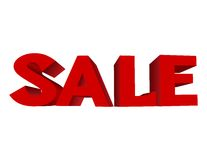 Red text SALE Stock Images