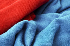 Red textile Royalty Free Stock Photo