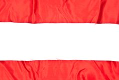 Red Textile Stock Photography