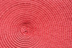 Red textile as pattern. Texture. Background Surface. Red textile as pattern. Circle texture. Background Surface Close up stock images