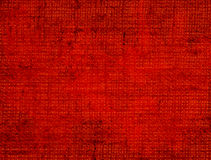 Red Textile Background Stock Image