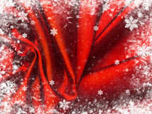 Red textile background. Royalty Free Stock Photography