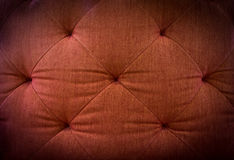 Red textile furniture Royalty Free Stock Images