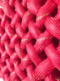Red textile pattern Royalty Free Stock Photography
