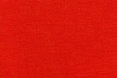 Red textile texture. Bright red textile texture. Red background Royalty Free Stock Image