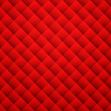 Red texture background. Leather seamless pattern Stock Images