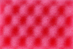 Red texture cellulose foam sponge Royalty Free Stock Photo