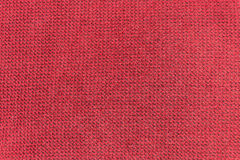 Red texture fabric Royalty Free Stock Photography
