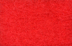 Red texture of foam rubber Royalty Free Stock Image