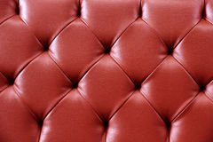 Red Texture Leather for background. Repeat pattern Stock Image