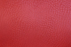 Red texture leather skin. Close up Red texture leather skin Royalty Free Stock Photo