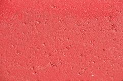 Red Texture Painted Concrete Wall Royalty Free Stock Photography