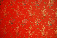 Red texture with phoenix Royalty Free Stock Photo