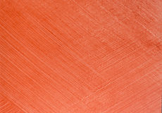 Red texture plaster for decoration Stock Photography
