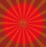 Red texture star background vector Stock Image