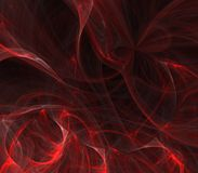 Red Texture Tangles Abstract Royalty Free Stock Images