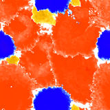 Red texture. Vector murble background. Watercolor hand drawn marble illustration. Stock Photography