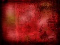 Red textured border. Grungy, with copy space Royalty Free Stock Image