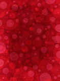 Red Textured Circles Stock Photography