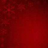 Red textured cloth Stock Photo