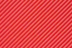 Red textured corrugate cardboard Royalty Free Stock Photography