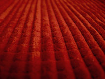 Red textured fabric Stock Photo