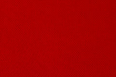 Red textured fabric Stock Images