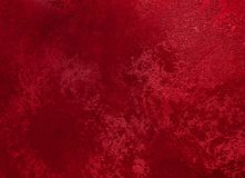 Red textured grunge background. Colorful crumpled texture Royalty Free Stock Photography