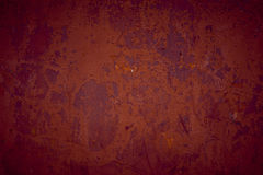 Red Textured grunge background. Rough textured bright red concrete grunge background Stock Image