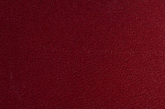 Red Textured Leather Stock Image