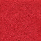 Red textured paper Royalty Free Stock Photo