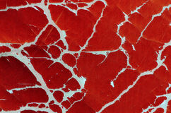 Red textured wallpaper Stock Photo