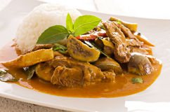 Red Thai Curry Royalty Free Stock Image