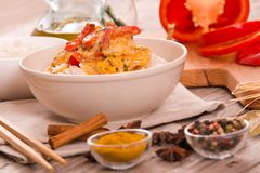 Red thai curry. Royalty Free Stock Photos