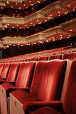 Red theater Royalty Free Stock Photos