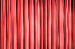 Red theater curtain. Theater curtain background. 3D rendered image vector illustration