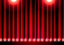Red theater curtain Royalty Free Stock Photo