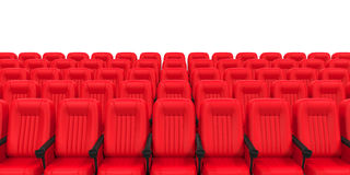 Red Theater Seat Royalty Free Stock Photos