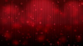 Red Theatrical Curtain. Red Light Burst over Theatrical curtain stock video