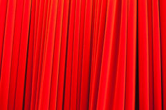 Red theatrical curtain pattern, background Stock Photography