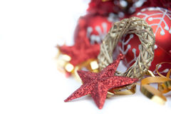 Free Red Theme Christmas Decorations Stock Image - 21632981