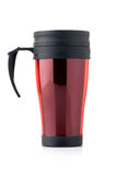 Red thermo cup Royalty Free Stock Image