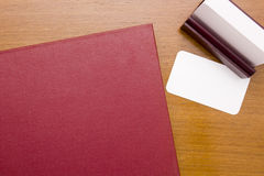Red thick book Royalty Free Stock Images