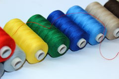 Red thread Royalty Free Stock Image