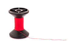 Red thread spoo Stock Photography