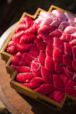 Red thread for thai silk Royalty Free Stock Photography